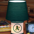 Oakland Athletics MLB Accent Table Lamp