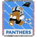 "Carolina Panthers NFL Baby 36"" x 46"" Triple Woven Jacquard Throw"