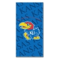 "Kansas Jayhawks College 30"" x 60"" Terry Beach Towel"