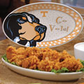 "Tennessee Vols NCAA College 12"" Gameday Ceramic Oval Platter"