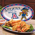 "Arizona Wildcats NCAA College 12"" Ceramic Oval Platter"