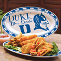 "Duke Blue Devils NCAA College 12"" Ceramic Oval Platter"