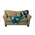 Miami Dolphins NFL Juvenile Fleece Comfy Throw