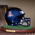 Arizona Wildcats NCAA College Helmet Replica Figurine