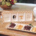 Tennessee Vols NCAA College Gameday Ceramic Relish Tray