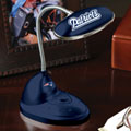 New England Patriots NFL LED Desk Lamp