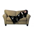 Jacksonville Jaguars NFL Juvenile Fleece Comfy Throw