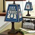 Indianapolis Colts NFL Art Glass Table Lamp