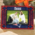 "New England Patriots NFL 6.5"" x 9"" Horizontal Art-Glass Frame"