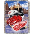 "Detroit Red Wings NHL Style ""Home Ice Advantage"" 48"" x 60"" Tapestry Throw"