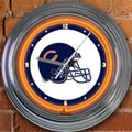 "Chicago Bears NFL 15"" Neon Wall Clock"