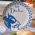 "Duke Blue Devils NCAA College 11"" Gameday Ceramic Plate"