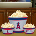 Los Angeles Anaheim Angels MLB Melamine 3 Bowl Serving Set