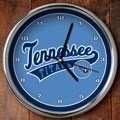 "Tennessee Titans NFL 12"" Chrome Wall Clock"