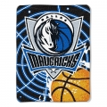 "Dallas Mavericks NBA ""Tie Dye"" 60"" x 80"" Super Plush Throw"