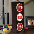 San Francisco 49ers NFL Stop Light Table Lamp