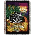 "Jacksonville Jaguars NFL ""Home Field Advantage"" 48"" x 60"" Tapestry Throw"