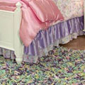 Glitter Fairy Gathered Bed Skirt