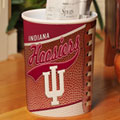 Indiana Hoosiers NCAA College Office Waste Basket