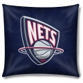 "New Jersey Nets NBA 18"" x 18"" Cotton Duck Toss Pillow"
