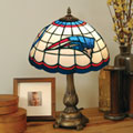 New England Patriots NFL Stained Glass Tiffany Table Lamp