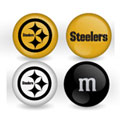 Pittsburgh Steelers Custom Printed NFL M&M's With Team Logo