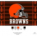 "Cleveland Browns NFL 39"" x 59"" Tufted Rug"