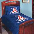 Arizona Wildcats Twin / Full Comforter and Two Shams
