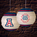 "Arizona Wildcats NCAA College 18"" Rice Paper Lamp"