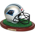 Carolina Panthers NFL Football Helmet Figurine