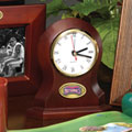 Washington Nationals MLB Brown Desk Clock