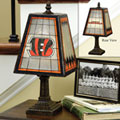 Cincinnati Bengals NFL Art Glass Table Lamp