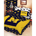 Michigan Wolverines 100% Cotton Sateen Twin Bed-In-A-Bag