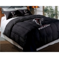 "Atlanta Falcons NFL Twin Chenille Embroidered Comforter Set with 2 Shams 64"" x 86"""