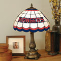 New York Rangers NHL Stained Glass Tiffany Table Lamp