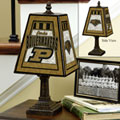 Purdue Boilermakers NCAA College Art Glass Table Lamp