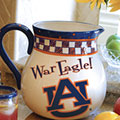 "Auburn Tigers NCAA College 14"" Gameday Ceramic Chip and Dip Platter"