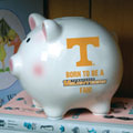 Tennessee Vols NCAA College Ceramic Piggy Bank