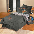 Baltimore Orioles Team Denim Twin Comforter / Sheet Set