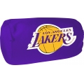 "Los Angeles Lakers NBA 14"" x 8"" Beaded Spandex Bolster Pillow"
