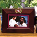 "San Francisco 49ers NFL 8"" x 10"" Brown Horizontal Picture Frame"