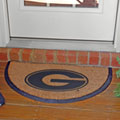 Georgia UGA Bulldogs NCAA College Half Moon Outdoor Door Mat