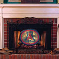 Arizona Wildcats NCAA College Stained Glass Fireplace Screen