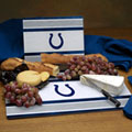 Indianapolis Colts NFL Glass Cutting Board Set