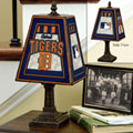 Detroit Tigers MLB Art Glass Table Lamp
