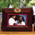 "Tampa Bay Buccaneers NFL 8"" x 10"" Brown Horizontal Picture Frame"