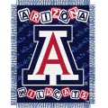 "Arizona Wildcats NCAA College Baby 36"" x 46"" Triple Woven Jacquard Throw"