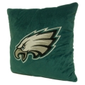 "Philadelphia Eagles NFL 16"" Embroidered Plush Pillow with Applique"
