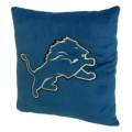 "Detroit Lions NFL 16"" Embroidered Plush Pillow with Applique"