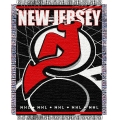 "New Jersey Devils NHL 48"" x 60"" Triple Woven Jacquard Throw"